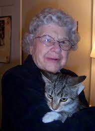 cat-grandma